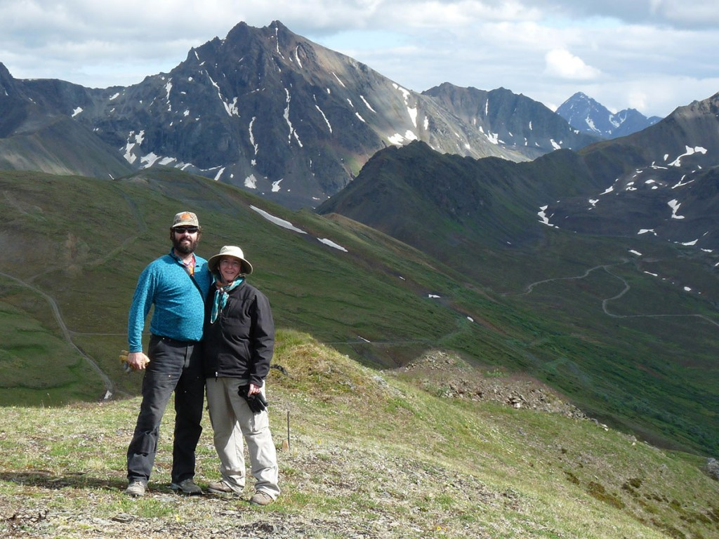 "Join Alaskan Naturalists Leslie and George LaBar for a ""Geology and Botany"" Guided Nature Series at Kantishna Roadhouse"