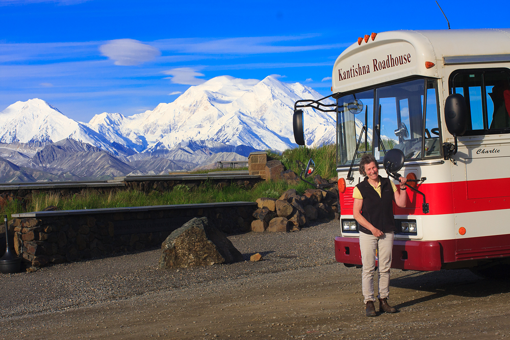 Mt McKinley And Kantishna Roadhouse Bus