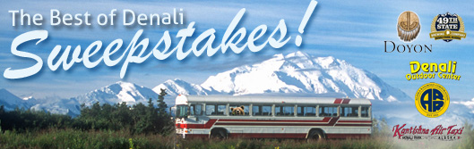 Enter to Win   Alaska Vacation for Two   Best of Denali Sweepstakes
