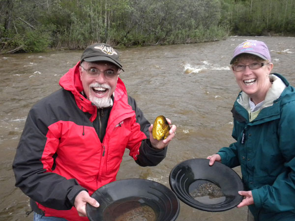 Panning For Gold In Denali National Park May Yield Big!