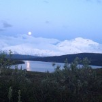 Full Moon, Fresh Snow & Alpenglow: Just Another June Day in Denali