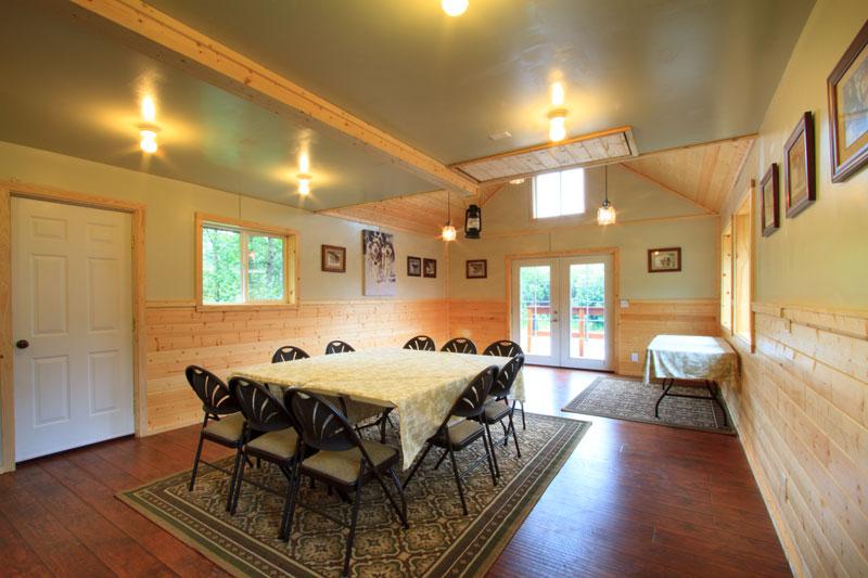 Musher's Hall Interior, Corporate Retreat Option in Denali Park